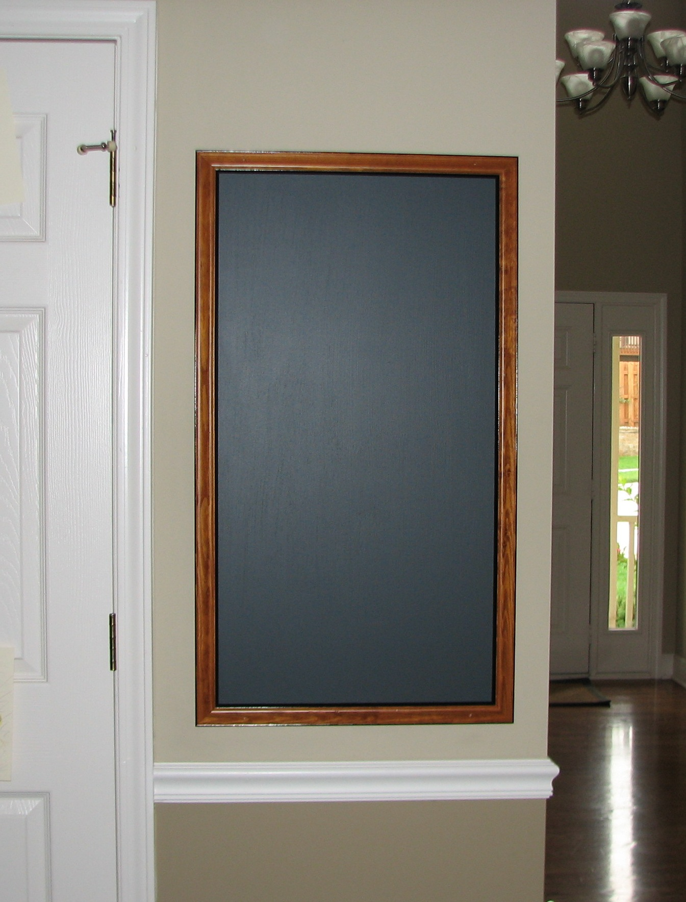 Chalkboard Bulletin Board Cork Keyhook Kitchen Cabinet Designs Notice Boards Design Chalkboard
