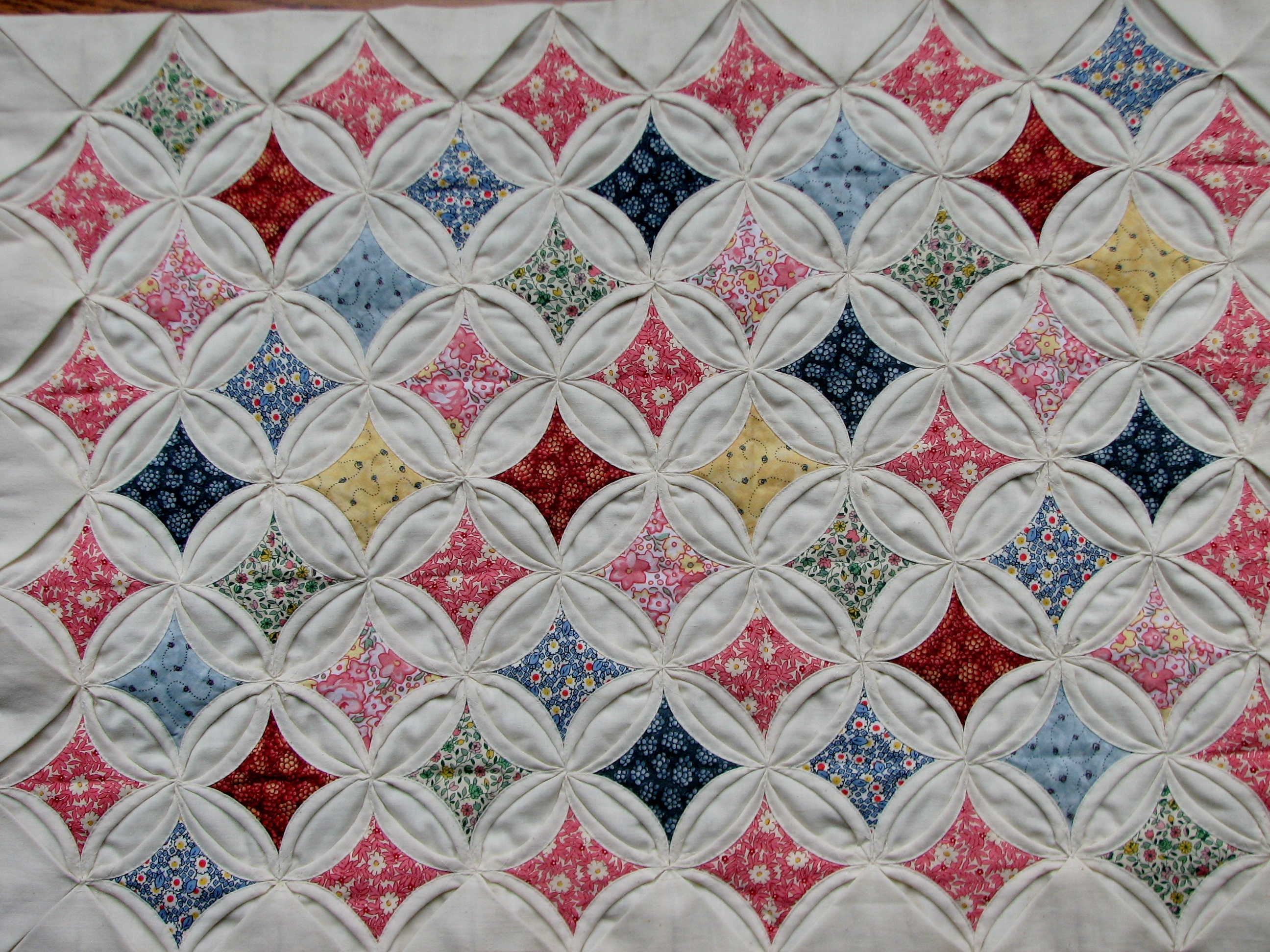 cathedral window quilt | edit423 : pattern for cathedral window quilt - Adamdwight.com