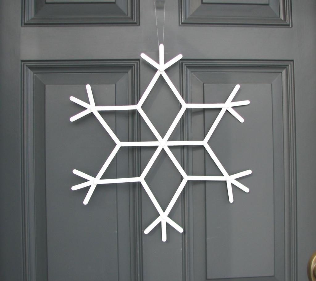 snowflake door 002