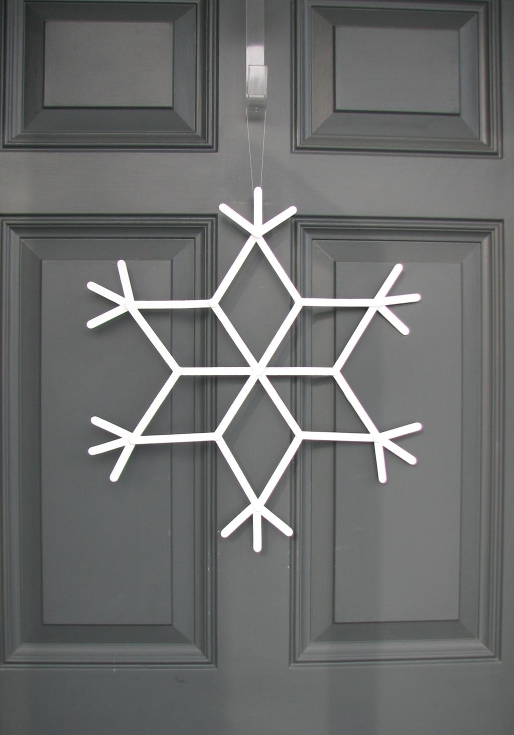 snowflake door 004